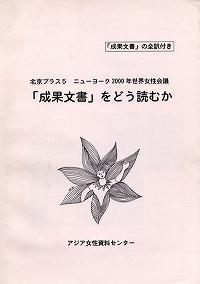 北京プラス5 ニューヨーク2000年-「成果文書」をどう読むか